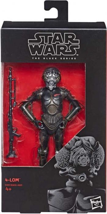 "Star Wars The Black Series 4-LOM Bounty Hunter 6"" Action Figure"